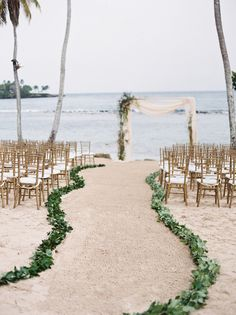 simple beach wedding ceremony decoration ideas wedding aisle 20 Stunning Beach Wedding Ceremony Ideas-Backdrops, Arches and Aisles - EmmaLovesWeddings Simple Beach Wedding, Beach Wedding Aisles, Beach Wedding Favors, Wedding Ceremony Decorations, Dream Wedding, Beach Wedding Ceremonies, Trendy Wedding, Beach Wedding Flowers, Summer Wedding