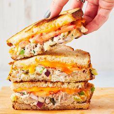 Best-Ever Tuna Melt Dinner Recipes tuna recipes The Best Tuna Recipe, Tuna Melt Recipe, Healthy Recipes, Lunch Recipes, Dinner Recipes, Cooking Recipes, Yummy Recipes, Healthy Food, Canned Tuna Recipes
