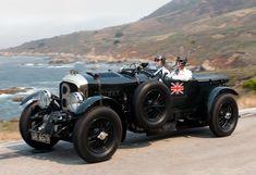 Ralph Lauren's Blower Bentley (1929) on Pebble Beach Tour d'Elegance.