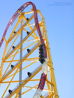 Top Thrill Dragster - Cedar Point, Sandusky OH. The best roller coaster I have ever been on. Fantastic!!!