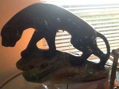 Panther nightlight....thrift