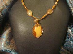 Bruneau Jasper Necklace by MallardRocksandGems on Etsy, $35.00