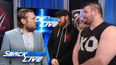 Kevin Owens & Sami Zayn try to celebrate with Daniel Bryan: SmackDown LIVE, Dec. 19, 2017 - YouTube