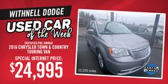 View our pre-owned Town & Country here!