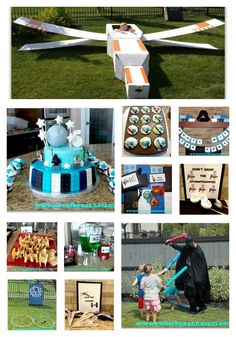 AWESOME LEGO Star Wars party, tons of ideas!