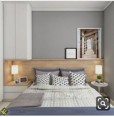 Ideas for bedroom loft design sleep Bedroom Bed Design, Modern Bedroom Design, Small Room Bedroom, Bedroom Loft, Home Bedroom, Interior Design Living Room, Diy Bedroom Decor, Home Decor, Decor Room