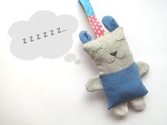 Newborn rattle sleepy plushie saccottino bear, sweet doudou. Kids toys, sweet companion. Children gift for birthday or holidays. on Etsy, $28.81 AUD