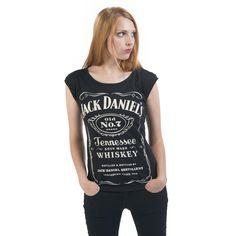 Old No.7 Back Zip - T-shirt Femme par Jack Daniel's - Référence de l'Article: 255170 - à partir de 15,39 € - EMP::: LE MAILORDER ROCK & METAL ::: Le Merchandising & tellement plus encore...
