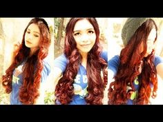 No Heat Curls For Beanies. this girl has tons of no heat curls tutorials!