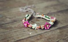 Summer Brights Floral Crown by CreatedByCarli on Etsy, £12.00