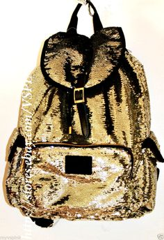 http://stores.ebay.com/VSPINK-STORE NEW! VICTORIA'S SECRET PINK BLING SEQUIN LIMITED EDITION BACKPACK (VERY CUTE) #VictoriasSecret #Backpack