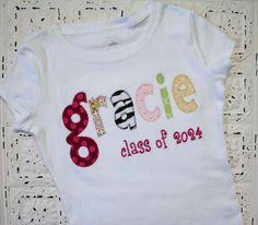 1st Day of School tshirt...aw want to make this for Alana