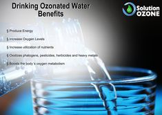 Ozone is the second most powerful disinfectant in the world and is natural. Ozone Therapy, Water Benefits, Water Solutions, Metabolism, Heavy Metal, Healthy Life, Drinking, Drinks, Heavy Metal Music