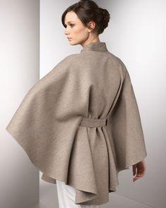 Cape Scarf, Cape Coat, Hijab Fashion, Fashion Outfits, Womens Fashion, Winter Cape, Cape Designs, Modest Outfits, Ideias Fashion
