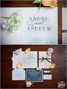 Omaha-Wedding-Invitation-detail-stationery Wedding Invitation Gray Pink Floral Script Bride Designed Details © cb Yates Photography -Omaha, Gretna, Lincoln and surrounding Nebraska areas Wedding Photographer