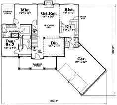 - 41515DB | 1st Floor Master Suite, CAD Available, Craftsman, Loft, PDF | Architectural Designs