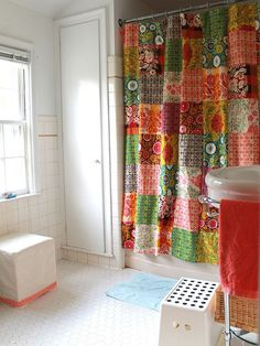 Quilt Shower Curtain