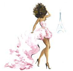 Beautiful Debra Cartwright watercolors  Paris-Recovered-Recovered