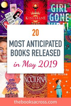 20 Most Anticipated Books Released in May 2019