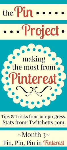 Pin Project - Using Tailwind to schedule your Pinterest Pins