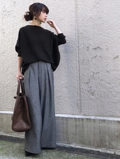 Japanese Fashion Street Casual, Japan Fashion Casual, Japanese Outfits, Cute Fashion, Fashion Pants, Asian Fashion, Girl Fashion, Fashion Outfits, Womens Fashion
