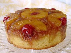 Pineapple Upside Down Cake from the CookBook Southern Cakes by Nancy McDermott