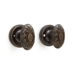 Victorian Door Knob Set - Privacy, Passage and Dummy - Hardware