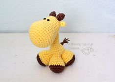 Pocket Giraffe Amigurumi Pattern