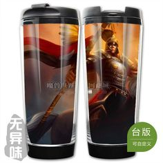 League of Legends LOL Winged Hussar Xin Zhao Plastic Coffee Cup