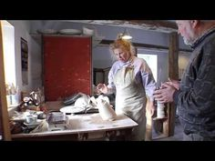 Besøg på Galleri Eskely Danish, Ceramics, Videos, Youtube, Painting, Art, Ceramica, Art Background, Pottery
