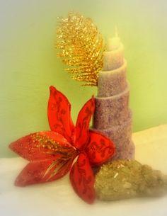 vela espiral de luz http://www.feelingcandles.com/