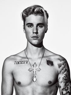 Justin Bieber Discusses Hailey Baldwin Relationship with 'GQ': Photo Justin Bieber shows off his shirtless body in this brand new image from GQ magazine's March 2016 issue, on newsstands February In the issue, the Justin Bieber Fotos, Justin Bieber Tattoos, Justin Bieber Photoshoot, Justin Bieber Pictures, I Love Justin Bieber, Justin Tattoo, Hailey Baldwin, Justin Bieber Wallpaper, Gq Usa