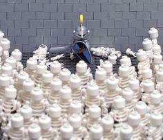 LEGO Skeleton Army | LEGO Knight vs Skeleton Army