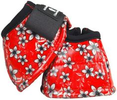 No Turn DL Bell Boots - M Flower by Equibrand. $26.95. Bright, flashy and protective all in one great No Turn Designer Line Bell Boot. Heavy canvas construction with a dense shock absorbing center and soft jersey lining Tough polyurethane coating is water repellant and stain resistant Beautiful, bright coloring stays true for life of the boot Double hook-and-loop closures and contoured fit ensures a proper, secure fit Stays in place for dependable protection and an indiv...