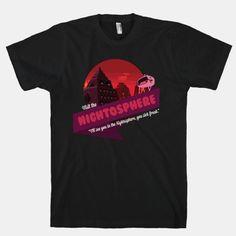 Visit The Nightosphere T-shirt