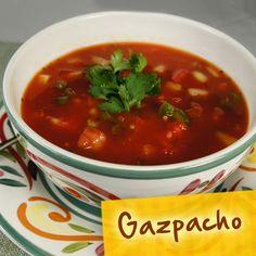 Hispanic Diabetes Recipes: Gazpacho