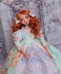 Купить Кукла будуарная Лилит Кукла ручной работы Кукла из пластика в интернет магазине на Ярмарке Мастеров