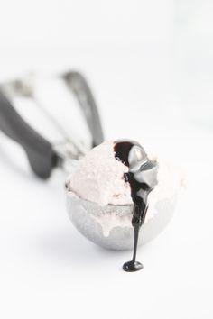 bell' alimento - beautiful food doesn't have to be complicated Love Ice Cream, Nice Cream, Ice Cream Maker, Strawberry Balsamic, Strawberry Summer, Frozen Desserts, Frozen Treats, Gelato Recipe, Gelato Flavors