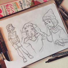 Anna Cattish — ✋ #girls #sketch