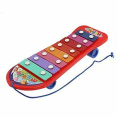 "Como Baby Red Xylophone Metal Bar Music Maker Musical Instrument Toy by Como. $11.60. Package Content : 1 x Music Maker Toy. Total Size : 25 x 9 x 4cm/ 9.8"" x 3.5"" x 1.6"" (L*Max.W*T);Mallets Size : 18.8 x 1.5cm/ 7.4"" x 0.6""(L*Max.D). Material : Plastic, Metal;Main Color : Red. Product Name : Music Maker Toy;Fit for : for Toddler Babies, Child. Weight : 215g. This Xylophone toy can produce clear and melodious music and the sound is energetic. Babies can make melodies..."