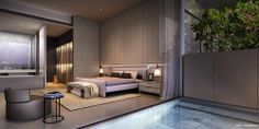 Cluny Park Residence | modern #bedroom #suite | Singapore | SCDA Architects