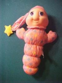 This is exactly like the Glow Worm I had as a kid.