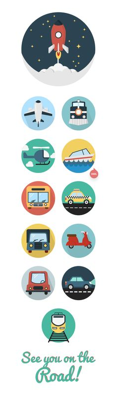 Cars-trucks-icons