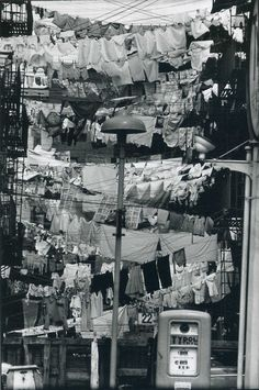 WASH DAY in Hoboken, New Jersey (1954)