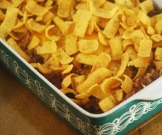 Low Fat Chili Frito Pie - Weight Watchers Recipes