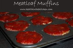 Meatloaf Muffins - easy to make and delicious! Oh, and FREEZABLE!