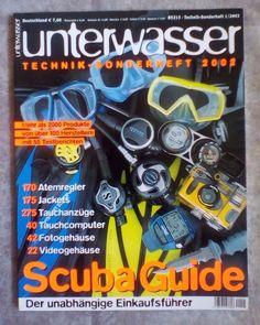 Unterwasser! TECHNIK ! SONDERHEFT  2002!Ausgabe: 1/ 2002!NEU!!