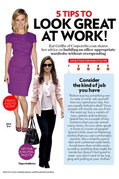 Tips for work outfits