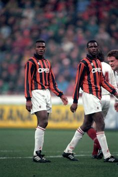 Marcel Desailly et Patrick Vieira (AC Milan) Football Drills, Football Icon, Best Football Players, Retro Football, National Football Teams, World Football, Vintage Football, Sport Football, Soccer Players