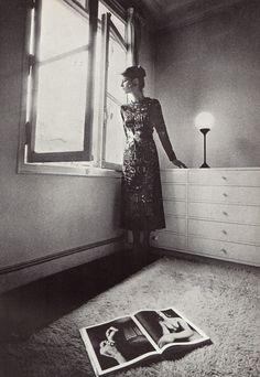 Charlotte Rampling for Yves Saint Laurent Rive Gauche. Vogue Paris, September 1970